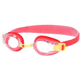 Очки для плавания детские Bubble, M0411 03 0 05W, цвет красный