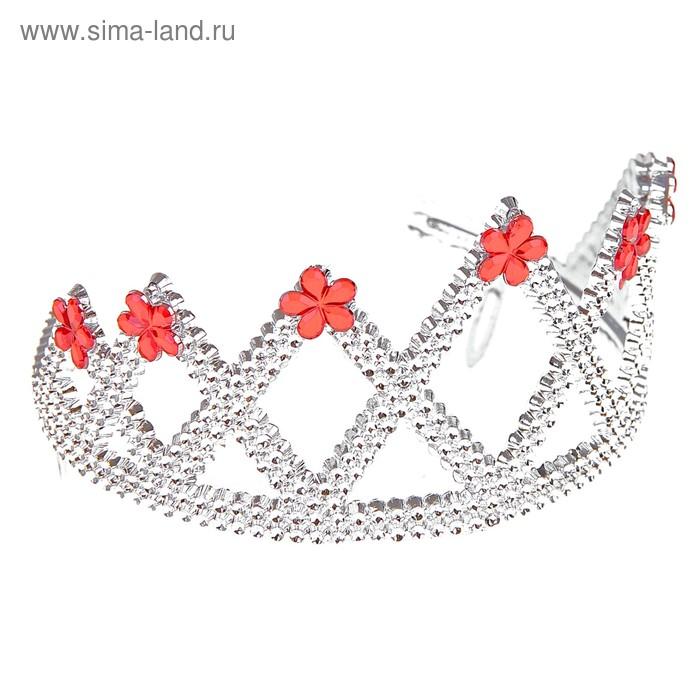 "Корона ""Принцесса"" на краях камушки"