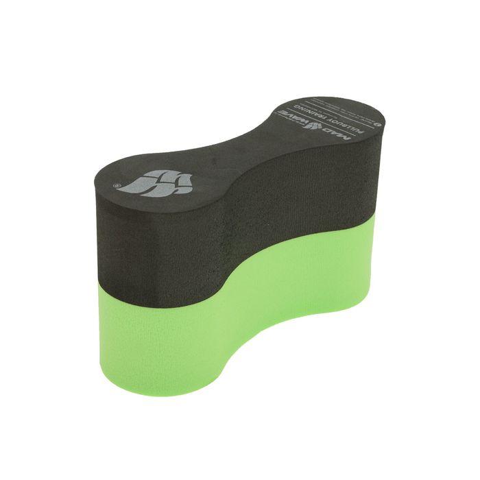 Колобашка Pullbuoy Training, цвет чёрный/зелёный