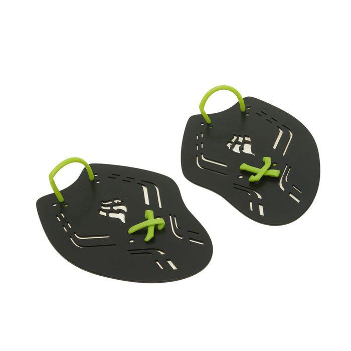 Лопатки Trainer Paddles Extreme, 25х17.8х0.3 см, размер L, цвет чёрный/зелёный