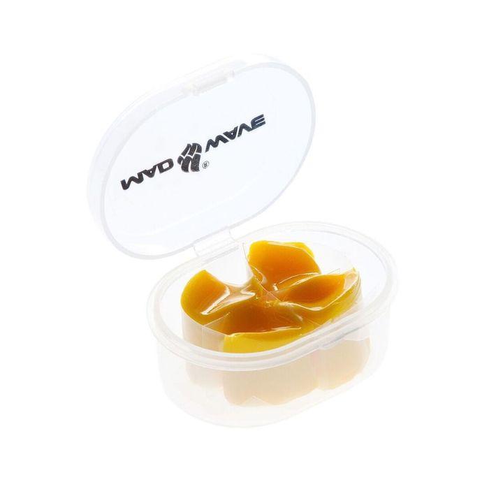 Беруши силиконовые Ear plugs silicone, цвет жёлтый