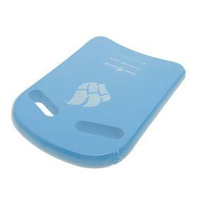 Доска для плавания Kickboard Cross, 38 x 27 см, M0724 04 0 04W, голубой