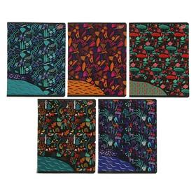 Тетрадь 60 листов в клетку «Путешествие», обложка мелованный картон, УФ-лак, блок офсет, МИКС