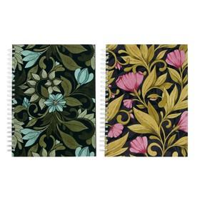 Блокнот для зарисовок А5, 60 листов на гребне Sketchbook «Принты», твёрдая обложка, блок офсет 100 г/м²