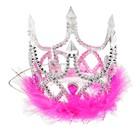 "Crown ""Princess"" on the rope, fur"