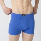 Трусы мужские KAFTAN, синий, размер 56