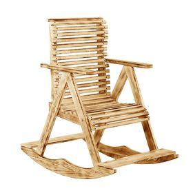 Кресло-качалка 70х110х90см, 'Термо' липа 'Добропаровъ' Ош