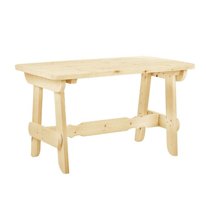 """Стол к набору """"Разбойник"""" 120 см, натуральная сосна"""