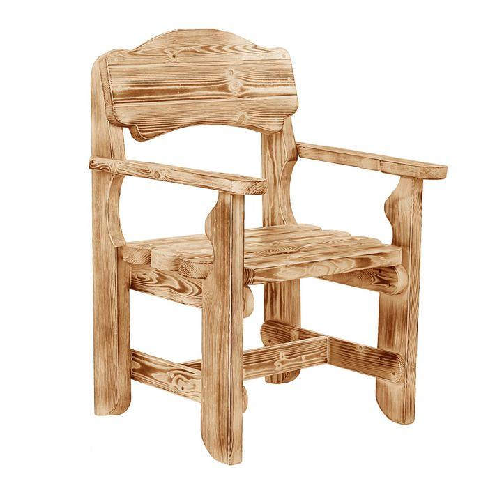 Кресло к набору Разбойник фигурный(обожжённый , лакированный)