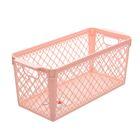 Корзина для хранения, цвет розовый - фото 308327089