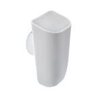 Стакан для ванной комнаты на присоске, цвет белый