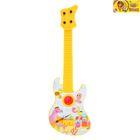 Музыкальная игрушка гитара «Весёлые животные», МИКС
