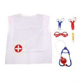 Набор доктора с халатиком «Будь здоров!», 6 предметов