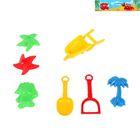 Набор для кинетического песка, 7 предметов, цвета МИКС