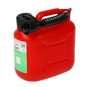 Канистра ГСМ Oktan CLASSIK, 5 л, пластиковая, красная Ош