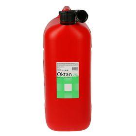 Канистра ГСМ Oktan CLASSIK, 25 л, пластиковая, красная - фото 7471160