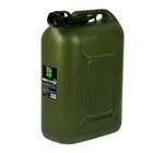 Канистра ГСМ Oktan PROFI, 25 л, пластиковая, усиленная, зеленая