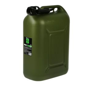 Fuel canister Oktan PROFI, 25 l, plastic, reinforced, green.