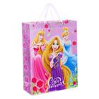 """Пакет ламинированный вертикальный """"День рождение принцессы!"""", Принцессы, 31 х 40 х 11 см"""