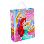 """Пакет ламинированный вертикальный """"Волшебное день рождения!"""", Принцессы, 18 х 23 х 10 см"""