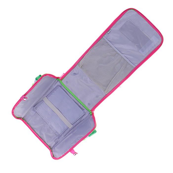 Ранец 35x26x16 см, EVA-спика, разборный, 2 отделения 3 кармана, «Цветы» - фото 369756119