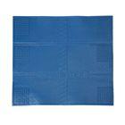 Коврик противовибрационный, 62х55 см, цвет голубой