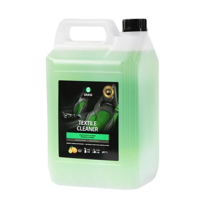 Очиститель обивки Grass Textile-cleaner, 5 л, канистра