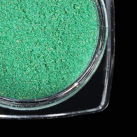 Пыль для ногтей, 1 гр, цвет зелёный
