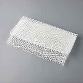 Подложка под ковёр противоскользящая 60×120 см, цвет жёлтый Ош