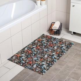 Коврик для ванной комнаты «Ассорти», 65×100 см, цвет МИКС Ош