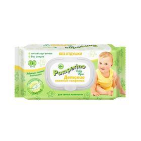 Влажные салфетки «Pamperino» Duo детские без отдушки, 2*80 шт