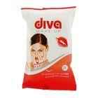 Салфетки влажные «Diva» Make up, для снятия макияжа, 20 шт