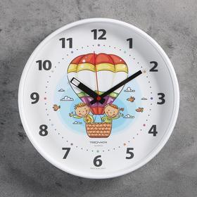 """Часы настенные, серия: Детские, """"Воздушный шар"""", 30х30 см"""