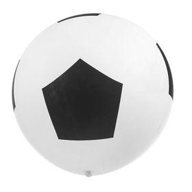 """Шар латексный 36"""" «Футбольный мяч», пастель, набор 10 шт."""