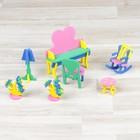 "Designer ""Magic"", doll furniture, dressing table, MIX color"
