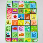 Mat for children on the basis of foil, the size 117х90 cm, MIX color