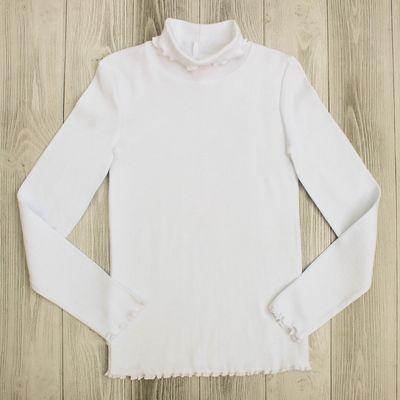 Водолазка для девочки, рост 146 см, цвет белый CAJ 61628