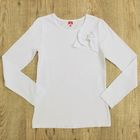 Блузка для девочки, рост 158 см, цвет белый CAJ 61634
