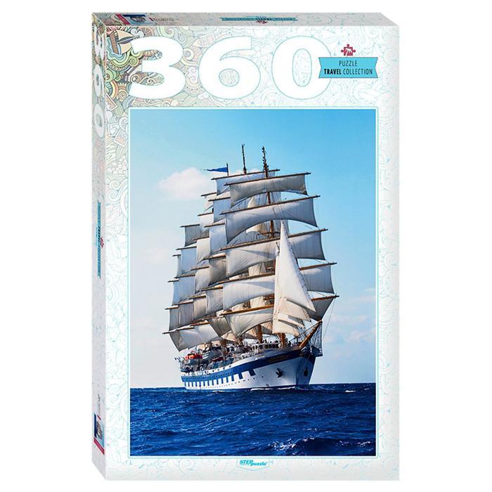 Пазл «Под парусами», 360 элементов