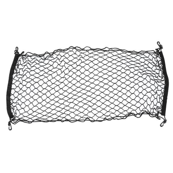 Сетка багажная, 40х100 см, пластиковые крючки