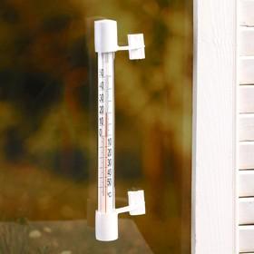 Пластиковый термометр оконный 'Липучка' в п/п , Ош