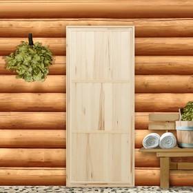 Дверь для бани 'Эконом', 160×70см Ош