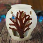 """Аромалампа керамика """"Дерево"""" 8,5х8х6 см"""