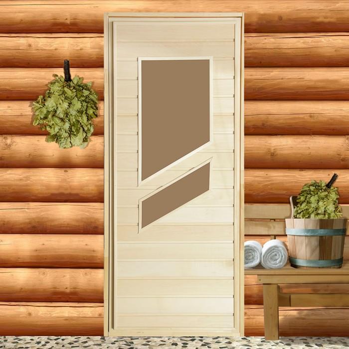 "Дверь со стеклом ""Стекло "" 160х70см"