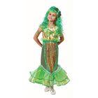Детский карнавальный костюм «Русалочка», бархат, размер 28, рост 110 см