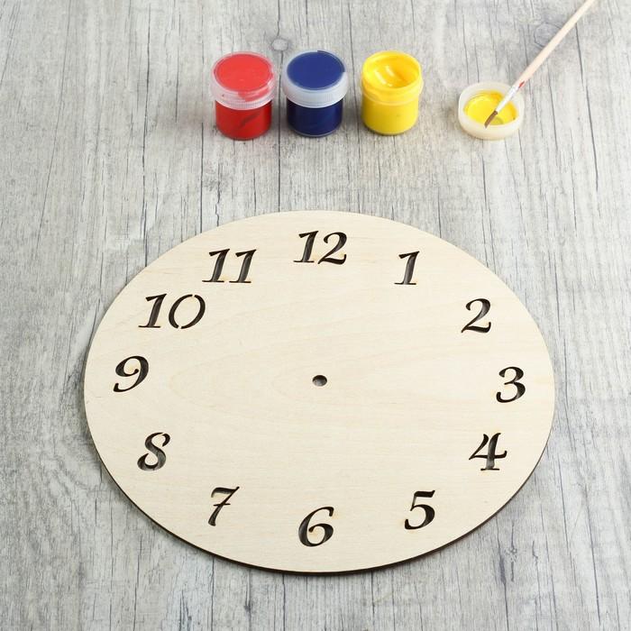 Заготовка для творчества «Циферблат часов» - фото 1727247
