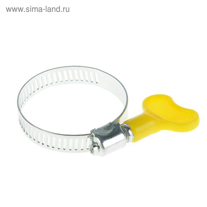 Хомут с барашком TUNDRA krep, ширина 9 мм, диаметр 25-40 мм