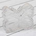 Заготовка - подвеска, раздельные части «Бабочка», размер собранной: 2.5 × 7.6 × 6 см