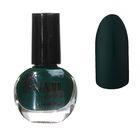 Лак для ногтей матовый, 9мл, цвет 13-20 зелёный