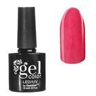 Гель-лак для ногтей, с эффектом кашемира, трёхфазный LED/UV, 10мл, цвет 01-13 красный